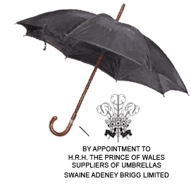 J peterman Swaine Adeney Brigg Umbrella