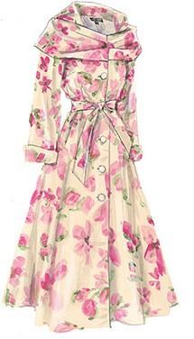 J peterman floral coat