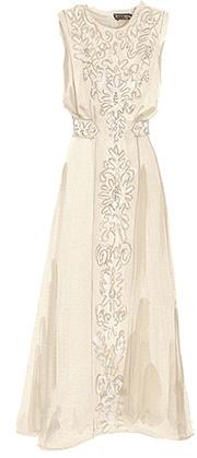 J peterman Edwardian Soutache Dress