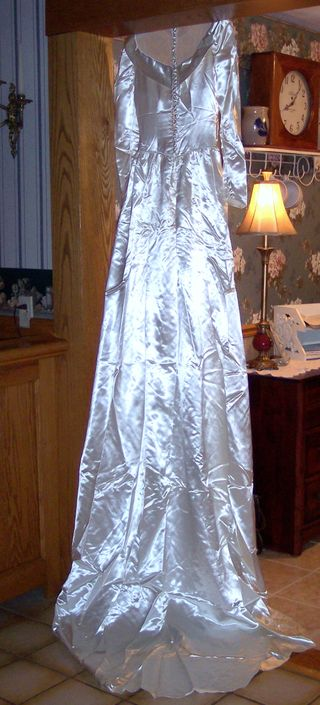 Vintage Skinner Satin Bridal Gown