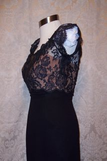 Peggy hunt illusion black dress (5)