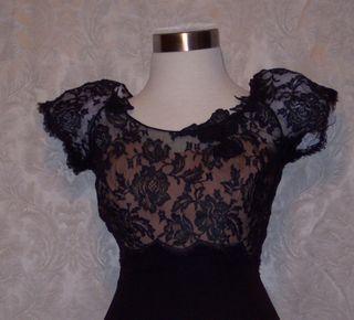 Peggy hunt illusion black dress (2)