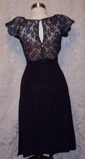 Peggy hunt illusion black dress (4)