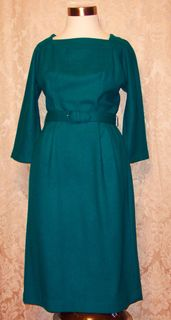Dr112 sears green wool wiggle