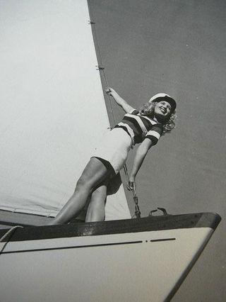 Vintage sailorette gal