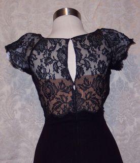 Peggy hunt illusion black dress (3)