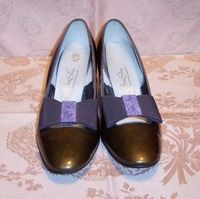 Sh116 Red Cross Shoes green patent leather (4)