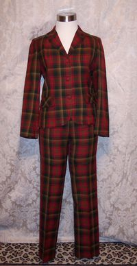 Highland queen plaid pantsuit (6)_309x600