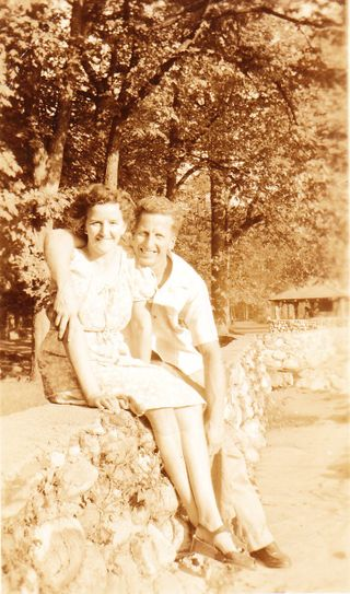 Late30s early 40s Look Park, MA Gram & Gramp