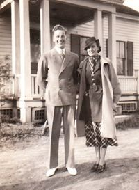 My glamorous grandparents in 1936!