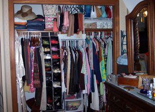 A vintage gals closet