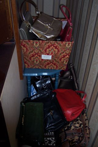 A gal can never have too many shoes or purses!