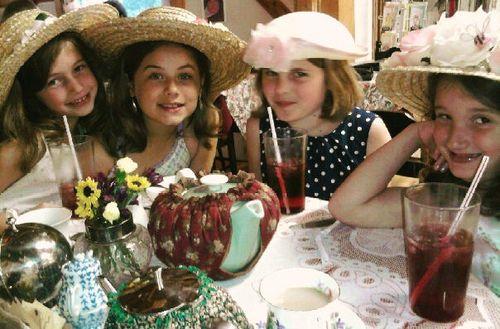 A very proper tea party
