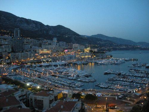 Monaco at twilight 1
