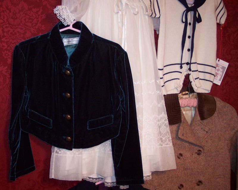 Childrens vintage clothing at The Red Velvet Shoe (3)