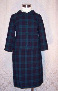 Vintage 1960S Pendleton Black Watch wool suit (6)