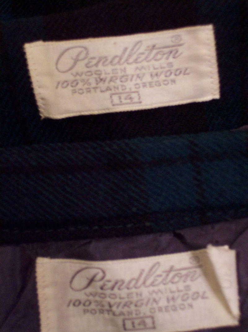 Vintage 1960S Pendleton Black Watch wool suit (2)
