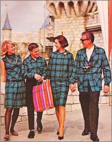 Vintage 1960S Pendleton Black Watch wool suit Ad