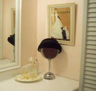Vintage decor bathroom