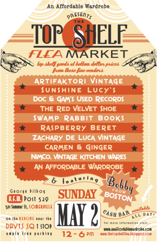 TOP SHELF FLEA MARKET OFFICIAL POSTER!