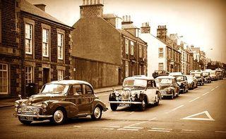 Vintage traffic