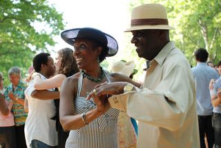 Governors Island Jazz Lawn party 2010 (2)