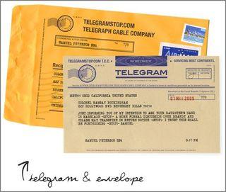 Telegram Stop service