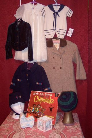Childrens vintage clothing at The Red Velvet Shoe