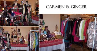 Carmen & Ginger Top Shelf Flea Oct. 2010