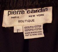 Vintage 1970s Pierre Cardin one shoulder black dress (2)