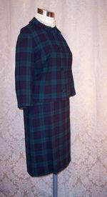 Vintage 1960S Pendleton Black Watch wool suit (10)