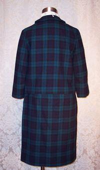Vintage 1960S Pendleton Black Watch wool suit (5)