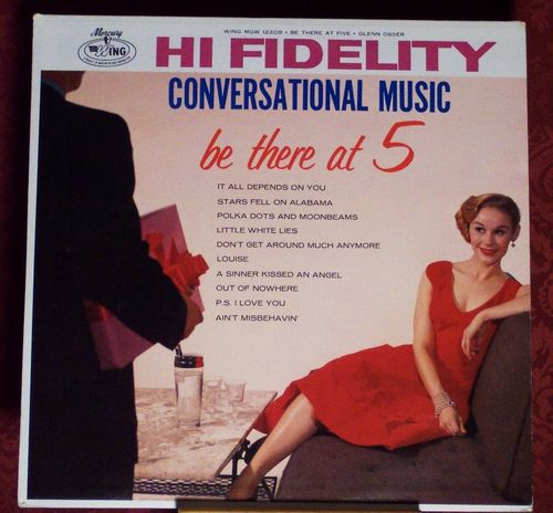 Conversational Music Be There At 5 Glenn Osser vintage Album Cover