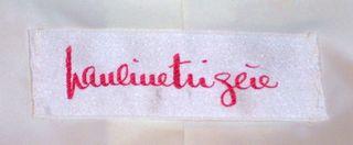 Vintage Pauline Trigere winter white coat & scarf ensemble (3)