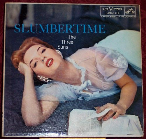 1956 Slumbertime The Three Suns Album Cover