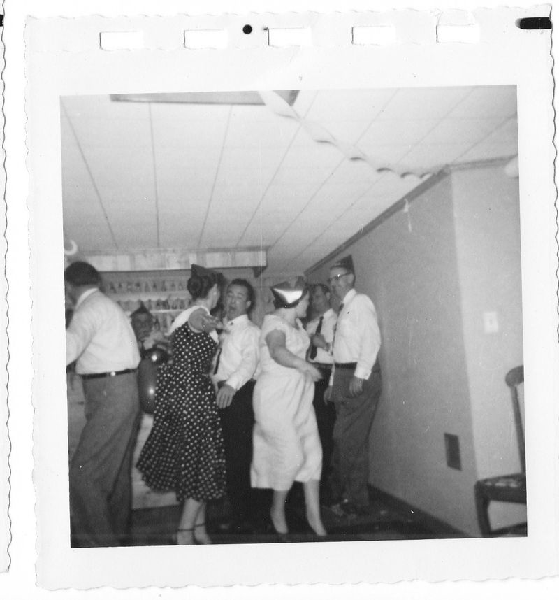 Vintage NYE party pictures c1950s  (3)