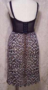 Vintage 1960s Vanity Fair Leopard Print Half Slip (4)