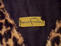1960s vintage Faux Fur Leopard Print Pullover Top (6)_300x225