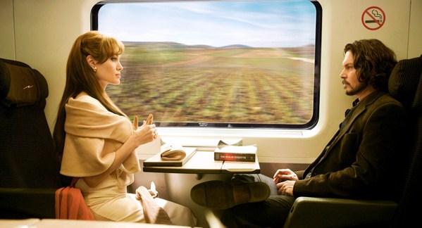 The Tourist train scene