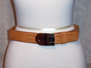 Vintage Christian Dior glove leather belt