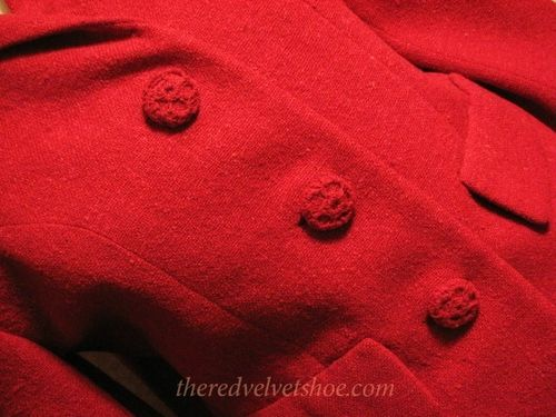 Sybil Connolly Dublin 1960s Vintage Red Wool Suit (14)