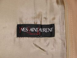 Yves Saint Laurent Made in France Vintage Trench Coat