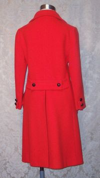 1960s Vintage Studio Six red wool coat_150x200 (8)