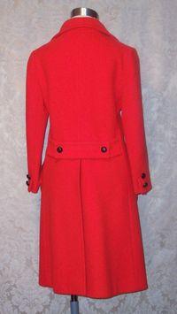 1960s Vintage Studio Six red wool coat_150x200 (8)