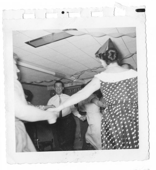 Vintage NYE party pictures c1950s  (5)