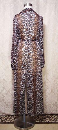 Vintage 1960s Vanity Fair Leopard Print jumpsuit (4)