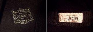 1930s Black Wool Cloche Henry Pollack Glenover vintage (2)