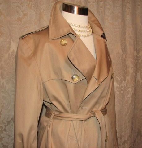 Vintage Yves Saint Laurent Trench Coat  (17)