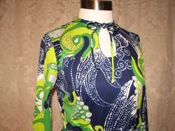 1960s B. Altman & Co. designed by Ruth Walter Pucci style dress (9)