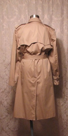 Yves Saint Laurent Made in France Vintage Trench Coat  (5)
